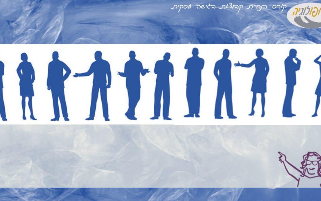 אוכלוסיית המשתתפים: ערך מתוך לקסיקון קורס הנחיית קבוצות – מא' עד ת'