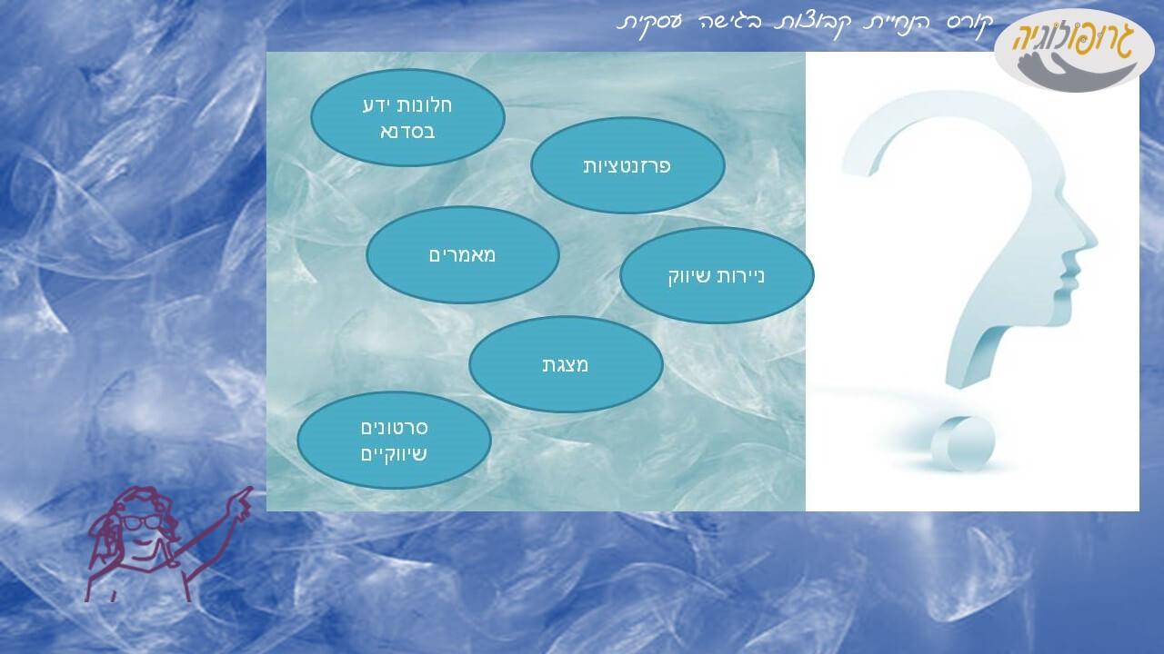 גרופולוגיה - קורס הכשרת מנחי קבוצות עצמאים